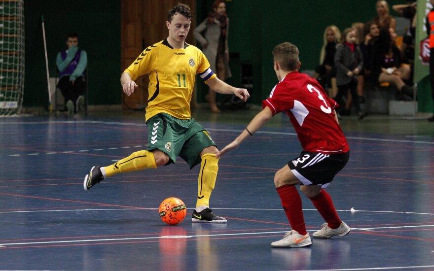 Futsal kvalifikacinis etapas. Lietuva - Albanija