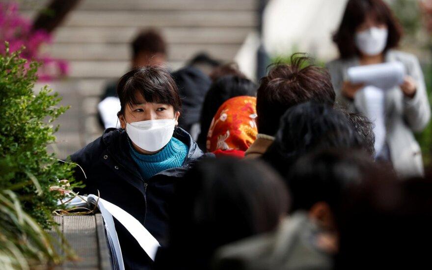 Pietų Korėjos specialistai kovos su koronaviruso patirtimi dalijosi su SAM atstovais