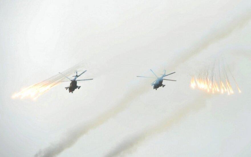 JAV žvalgyba: Rusija sukoncentravo pajėgas plataus mąsto įsiveržimui į Ukrainą