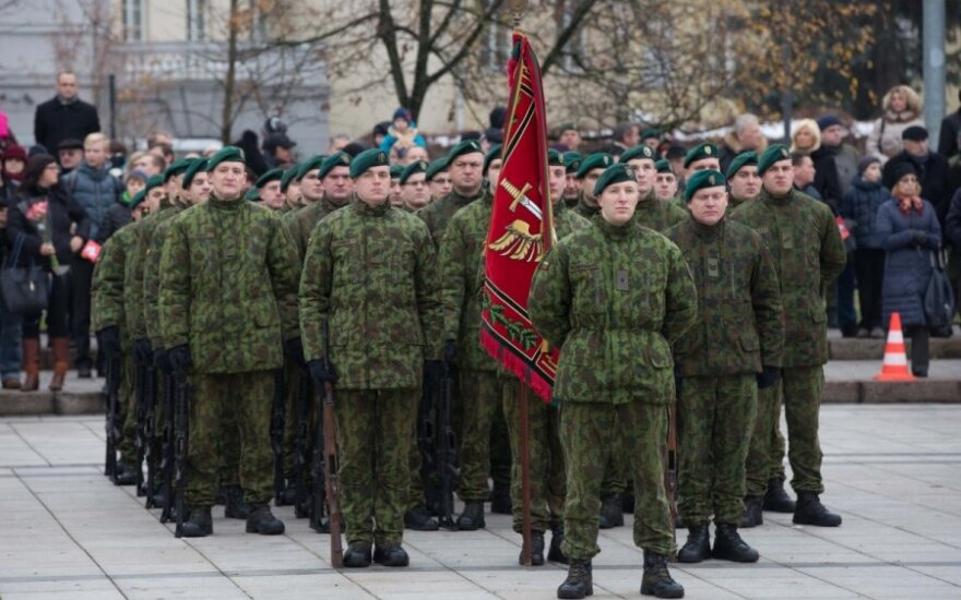 Lithuanian government backs restoration of conscription