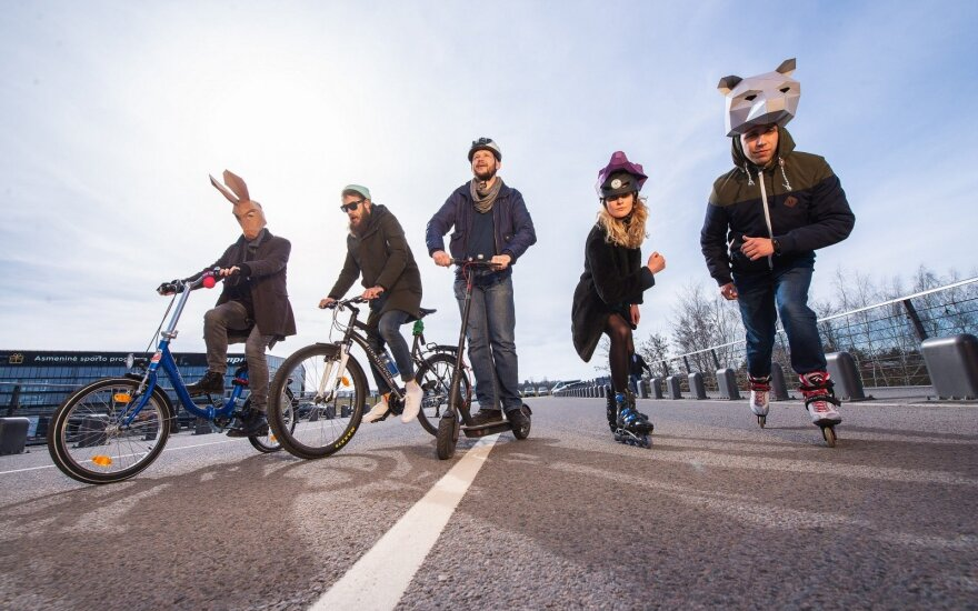 Didžiausios riedynės Kauno istorijoje: kviečia į dviračių sezono atidarymą