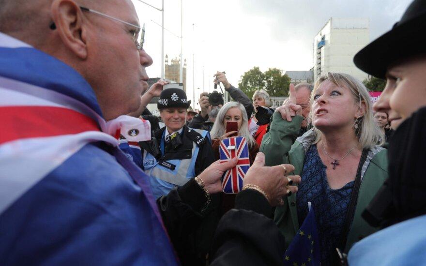 Londone vyksta protestas