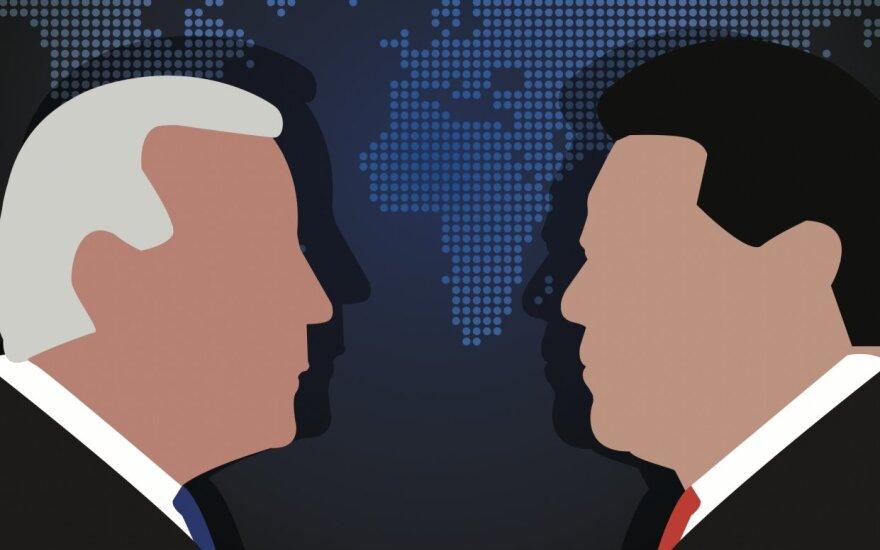 Joe Biden ir Xi Jinping
