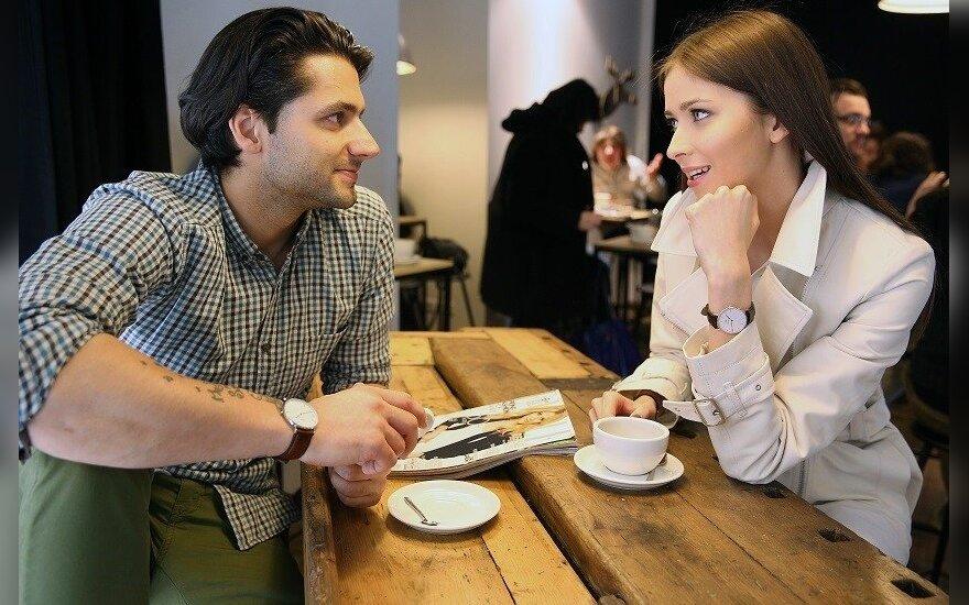 Ali Gadžijevas su drauge Patricija