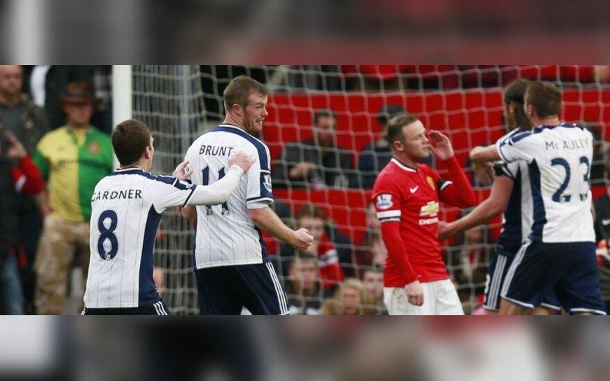 """""""Man United"""" klubas pralaimėjo trejas rungtynes iš eilės"""