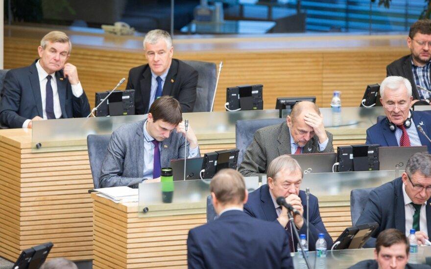 Kitą savaitę Seimas svarstys siūlymą imtis naujo parlamentinio tyrimo