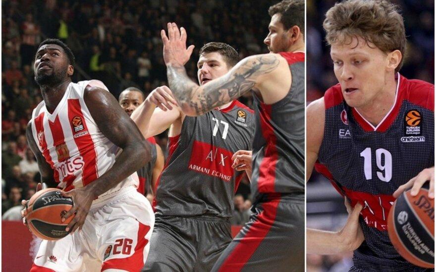 Milano komanda ir Mindaugas Kuzminskas