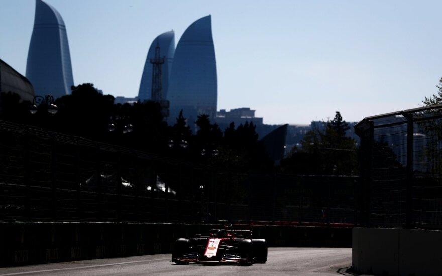 F-1 lenktynės Azerbaidžane 2020-aisiais nevyks