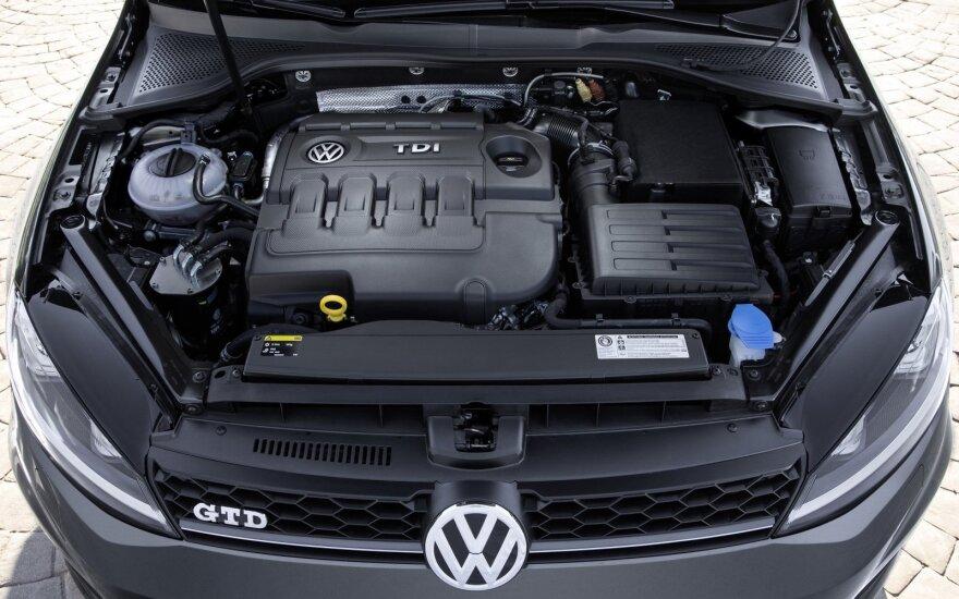 """""""Volkswagen"""" atstovai Lietuvoje: automobiliai yra saugūs"""