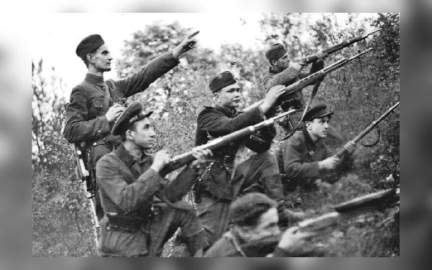 Grupė ukrainiečių sukilėlių, 1943 m.