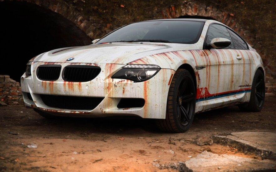 Kauno stilistai sukūrė apokaliptinį BMW