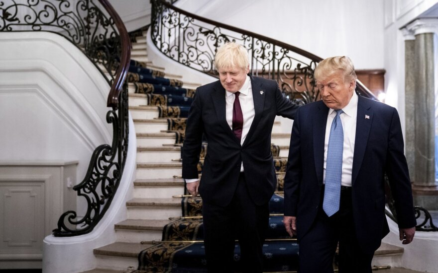 Borisas Johnsonas, Donaldas Trumpas
