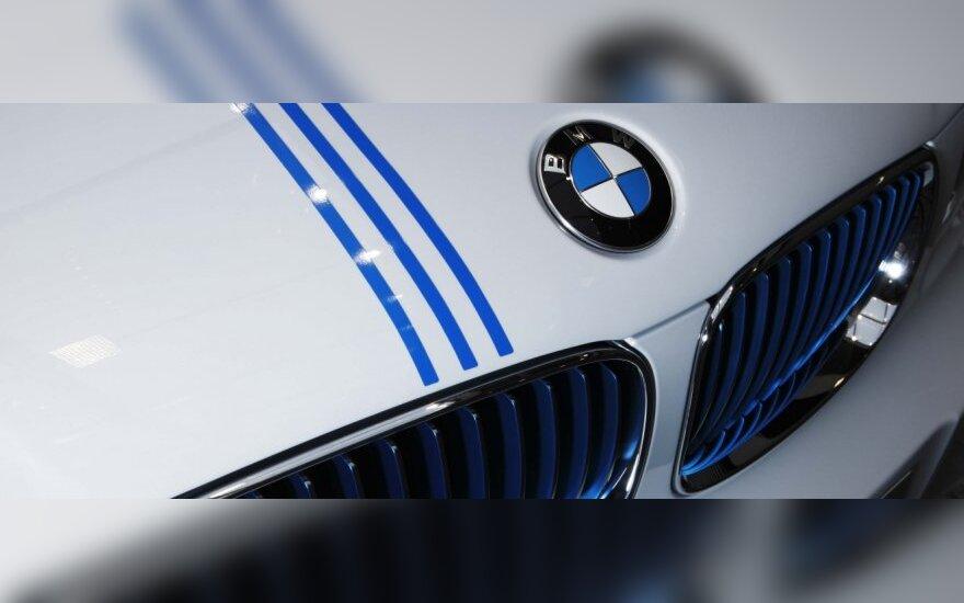 BMW kurs elektromobilį Kinijai