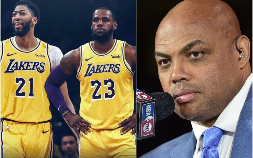 """Ekspertai apie """"Lakers"""" atliktus mainus: LeBrono medaus mėnuo baigėsi, daugiau – jokių pasiteisinimų"""