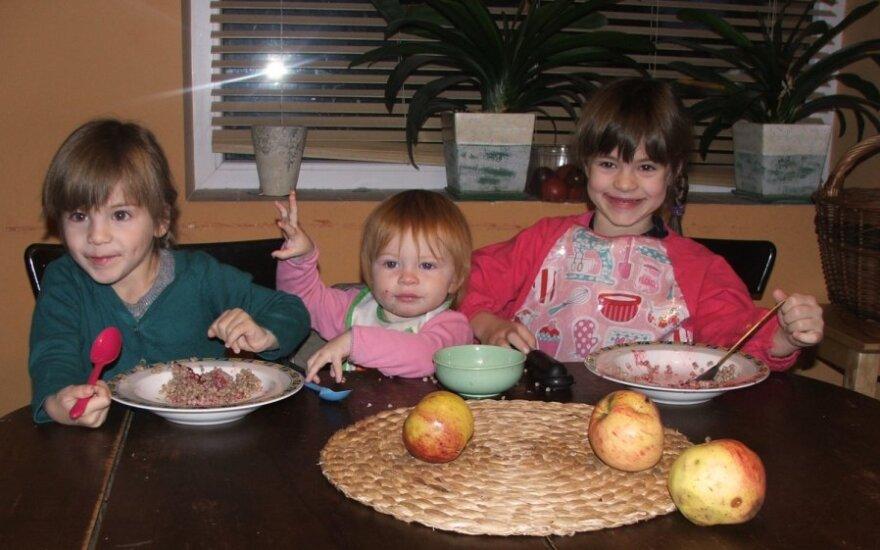 Įprasti Dariaus Kubiliaus šeimos pusryčiai