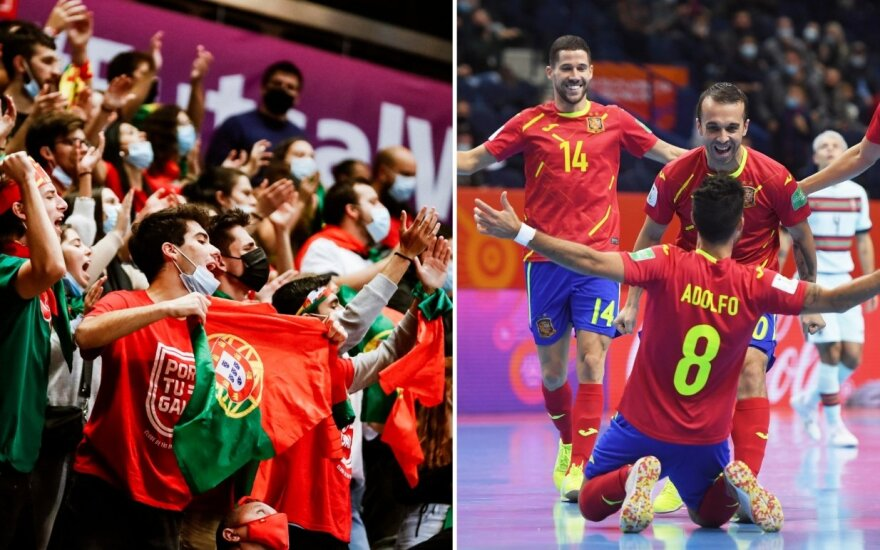 Be medalių likęs Ispanijos žvaigždynas Lietuvoje pritrūko palaikymo: portugalai Vilniuje pasijautė šeimininkais