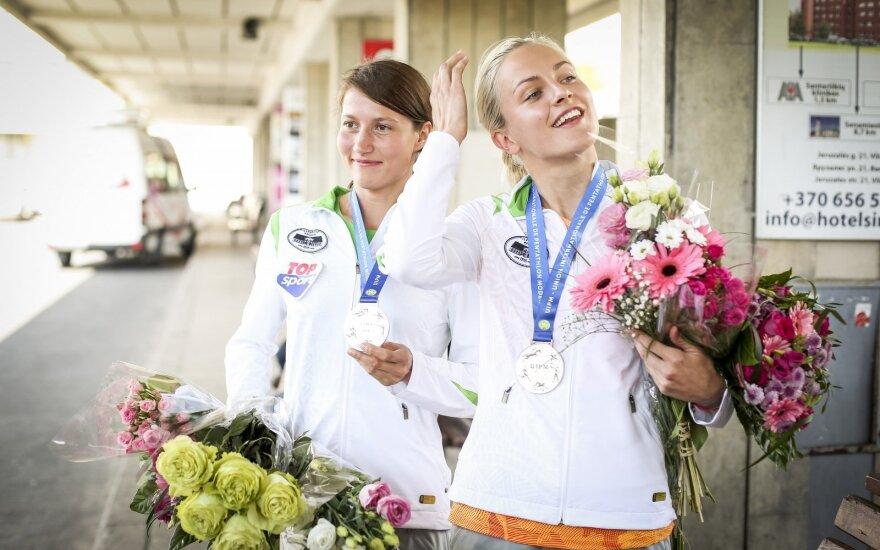 Lina Batulevičiūtė ir Ieva Serapinaitė