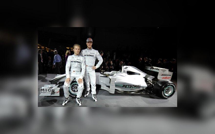 """Mercedes"" komandos pristatymas"