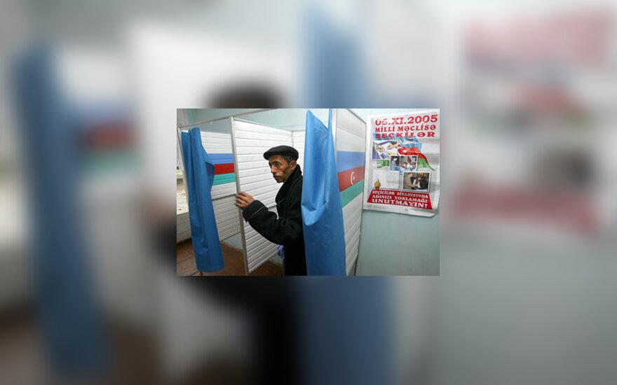 Azerbaidžane vyksta parlamento rinkimai