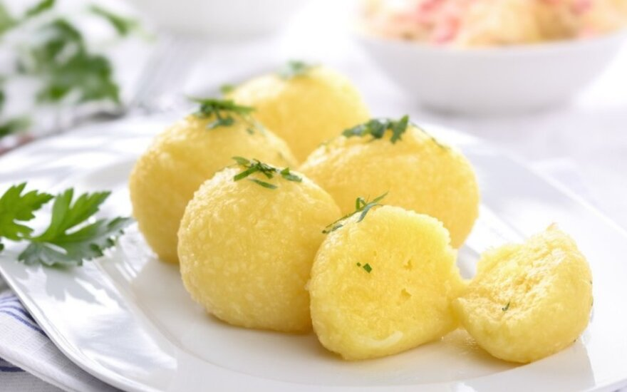 Šilkiniai bulvių kukuliai