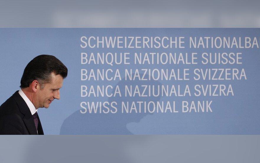Atsistatydino Šveicarijos centrinio banko vadovas Philippas Hildebrandas