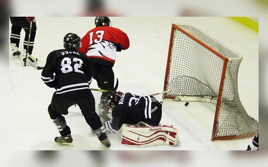 """Lietuvos ledo ritulio čempionatas: """"Baltų ainiai"""" - """"Hockey Punks"""""""