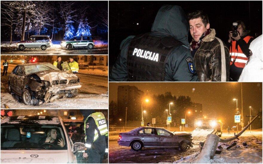 Naktinis reidas Vilniuje: girtus vairuotojus gaudė ir policija, ir pareigingi piliečiai