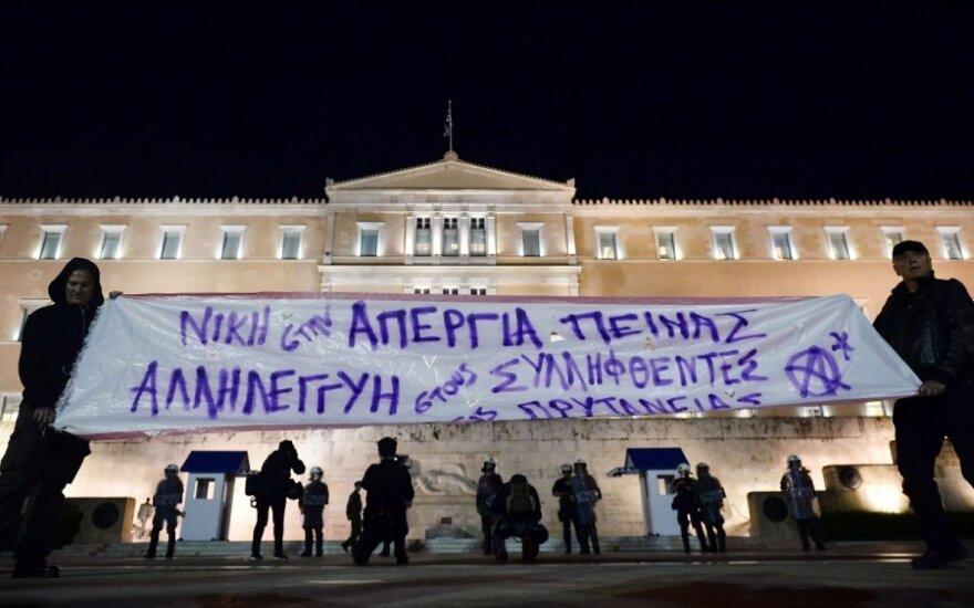 Graikijos drama tęsiasi toliau