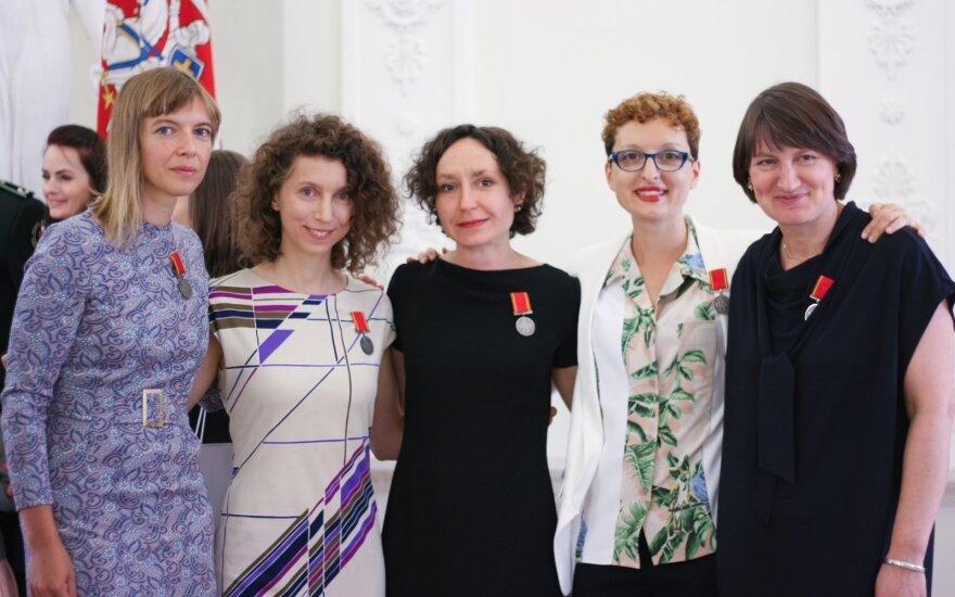 Lina Lapelytė, Rugilė Barzdžiukaitė, Vaiva Grainytė, Lucia Pietroiusti, Rasa Antanavičiūtė