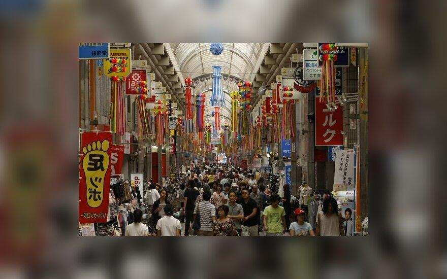 Prekybos pasažas Tokijuje (Japonija).