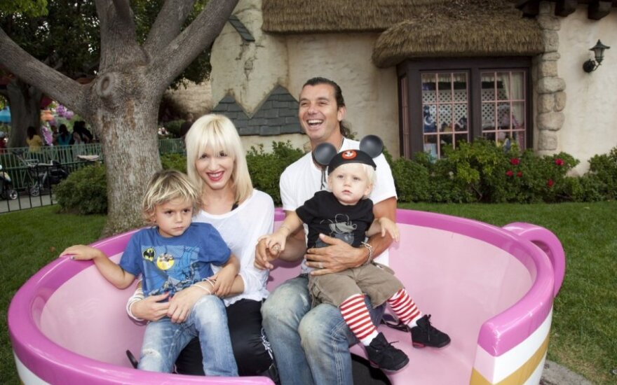 Gwen Stefani su sūnumis