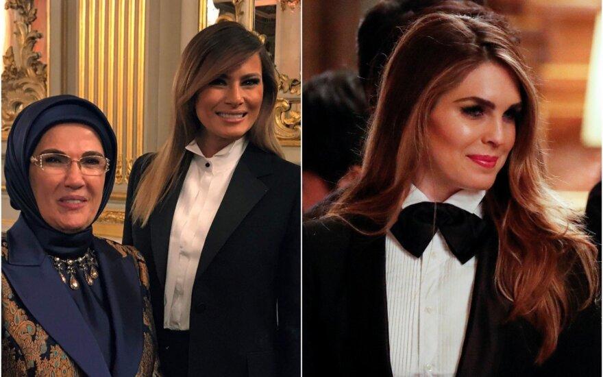 Melania Trump, Hope Hicks