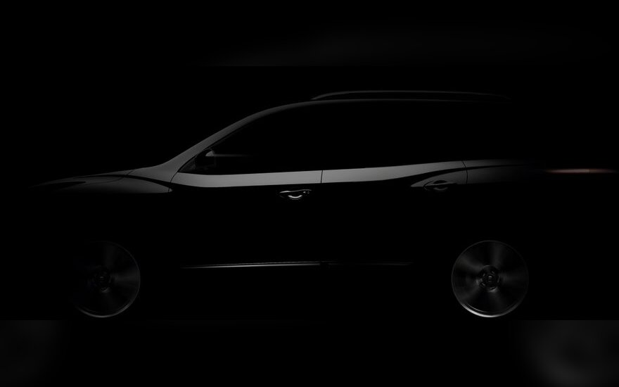 Būsimo Nissan Pathfinder užuomina