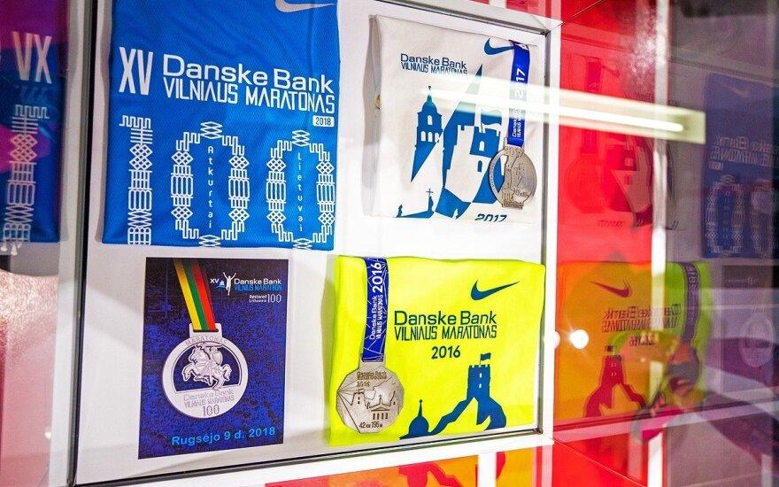 Šimtmečio maratonui – išskirtinis medalis su heraldiniu Vyčiu