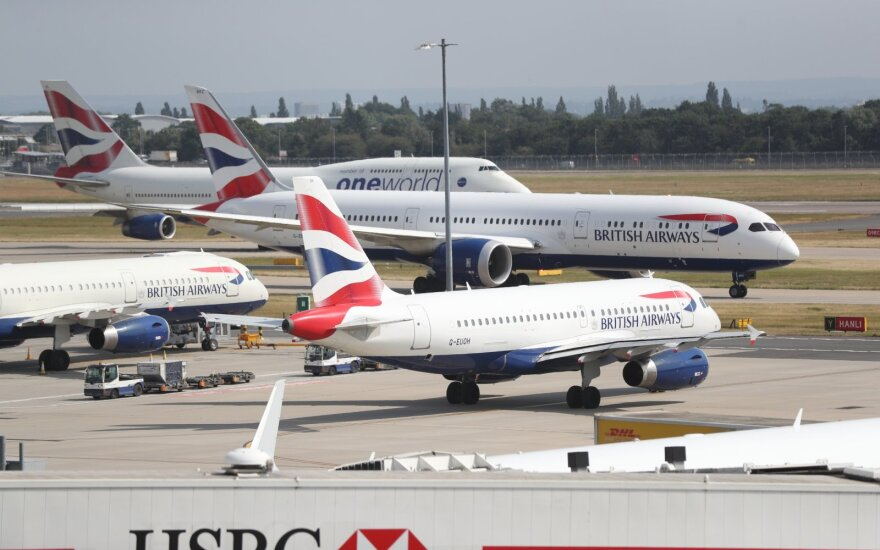 Londono Hitrou oro uostas