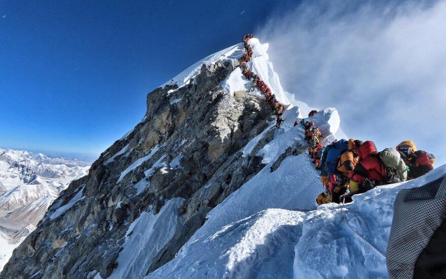 Žūtys prie Everesto kelia susirūpinimą dėl lietuvių saugumo kalnuose