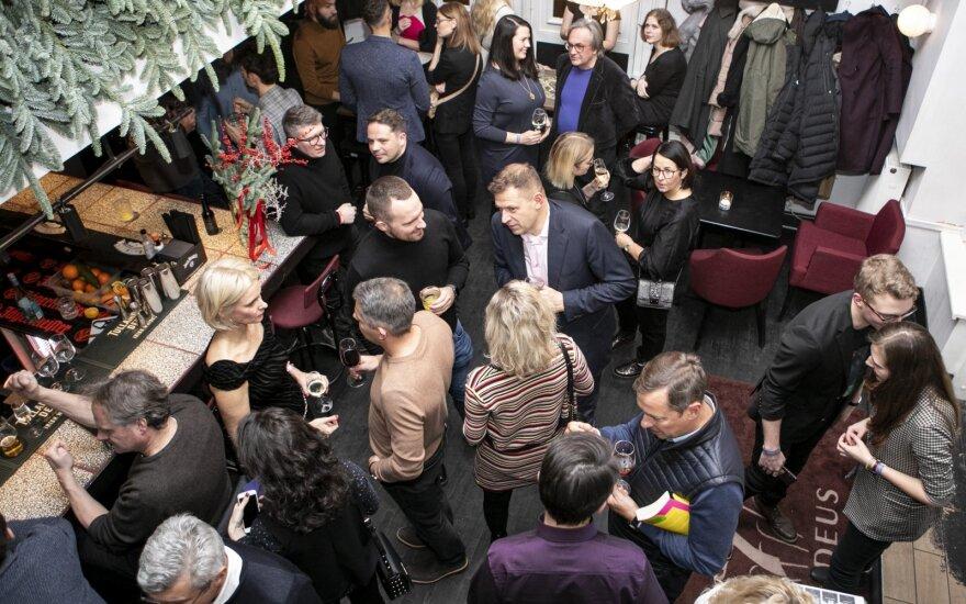 """Kontaktų ir verslo pažinčių vakarėlis """"Network Party"""" / P. Peleckio nuotr."""