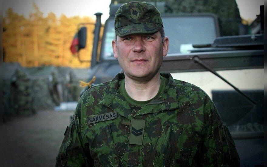 Sergeant Rolandas Nakvosas