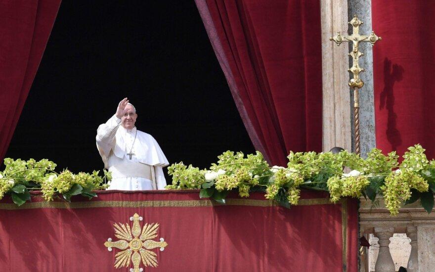 Popiežius kreipėsi į miestą ir pasaulį