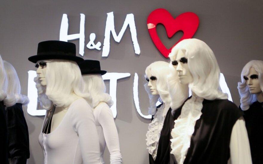 Įkliuvo H&M