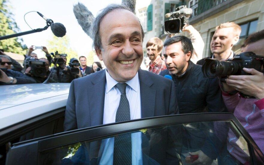 M. Platini toliau kovoja dėl savo reputacijos: prasidėjo finalas