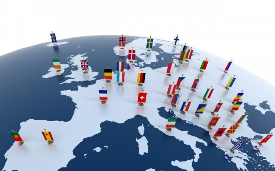 Penki galimi Europos ateities scenarijai