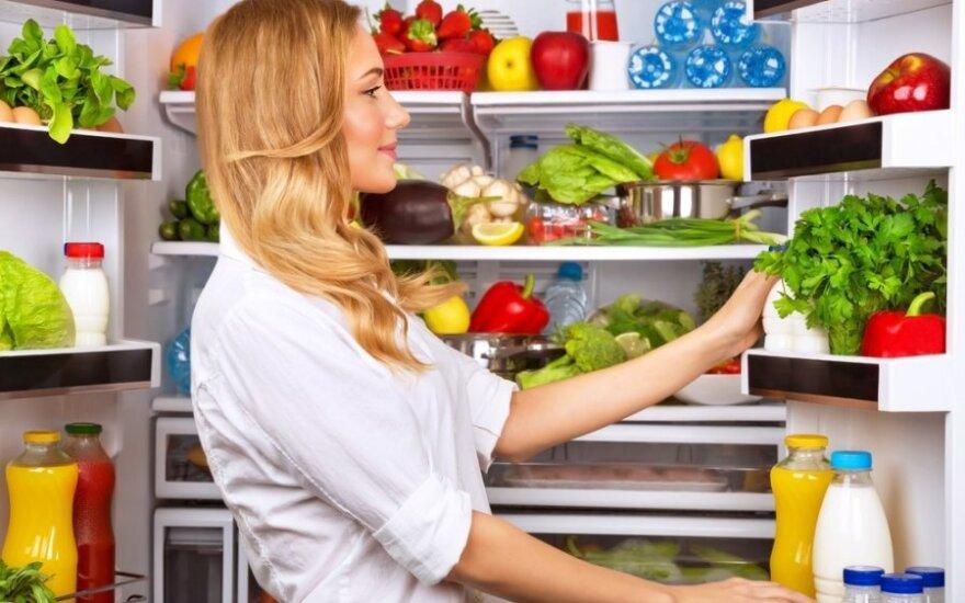 Trys vaisių ir daržovių laikymo klaidos