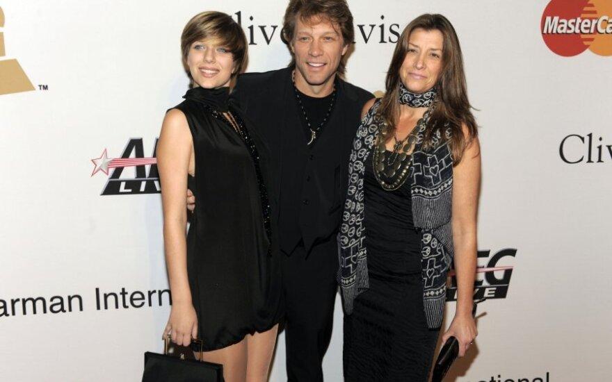 Stephanie Rose Bon Jovi, Jonas Bon Jovi ir Dorothea Rose Hurley