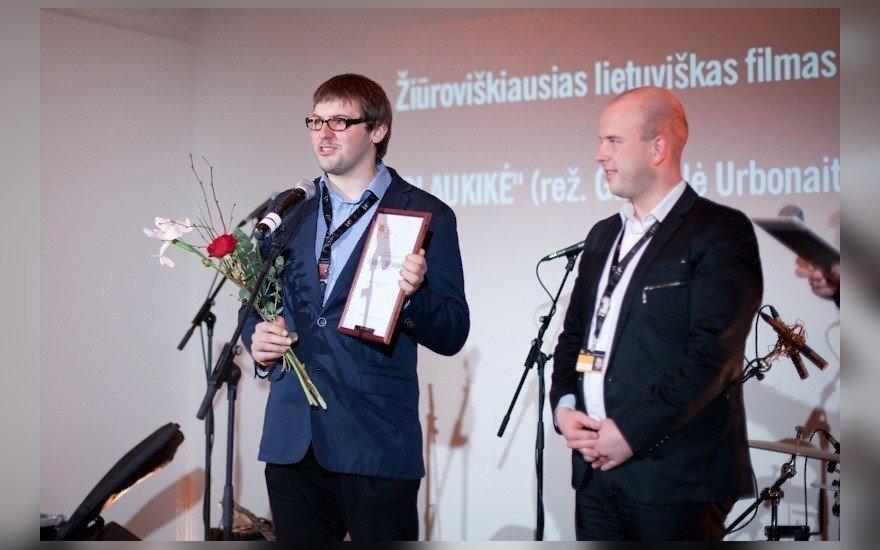 Apdovanotas žiūroviškiausias filmas (V.Buivydės nuotr.)