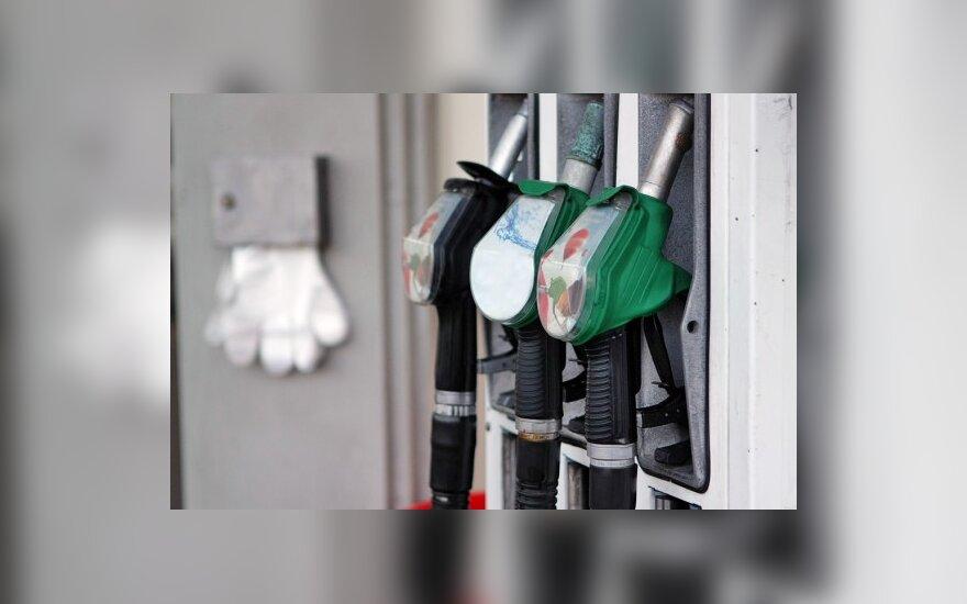 Per savaitę benzinas ir dyzelinas pigo daugiau nei 10ct/l