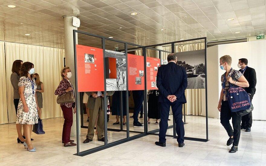 Paryžiuje paminėtos M. Gimbutienės 100-osios gimimo metinės. Atstovybės UNESCO nuotr.