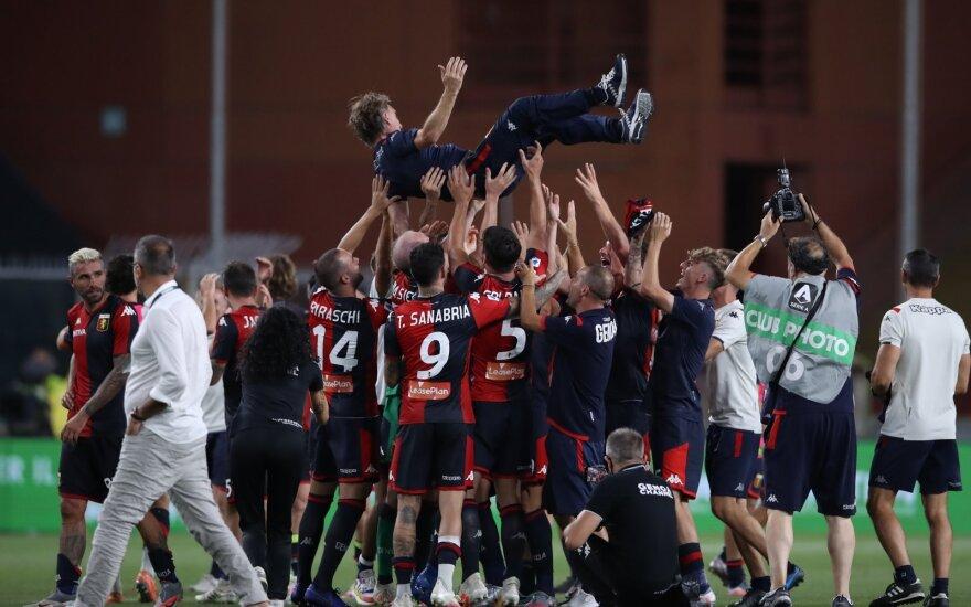 """""""Genoa"""" komanda"""