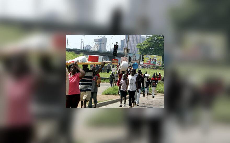 Dramblio Kaulo Kranto gyventojai palieka namus