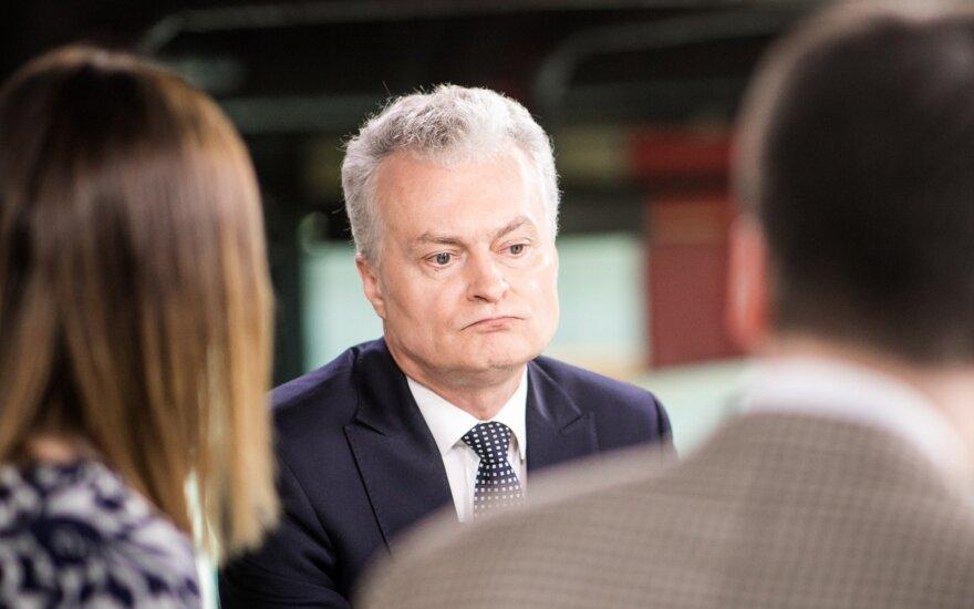 Šimonytės štabo vadovas išplatino atvirus klausimus Gitanui Nausėdai